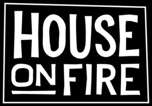 house on fire logo